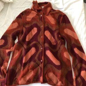 Vintage Fendi sweater shirt in 70's print
